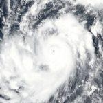 Graphic of hurricane